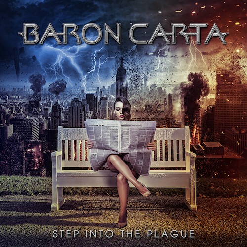 Baron Carta - Step Into The Plague - Cover - Lower Res
